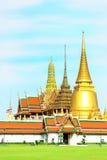 Wat Phra Kaew ,landmark famous Temple of Buddha in Bangkok, Thaila Stock Photo