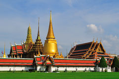 Wat Phra Kaew Landscape Royalty Free Stock Photography