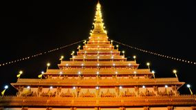 Wat phra kaew the most famous landmark. In Thailand Royalty Free Stock Images