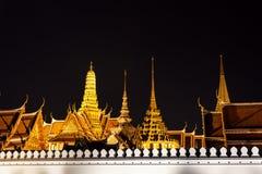 Wat phra kaew at night Stock Photography