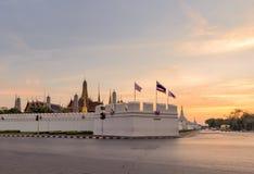 Wat Phra Kaew o templo de Emerald Buddha imágenes de archivo libres de regalías