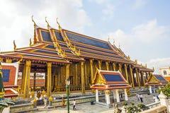 Wat Phra Kaew, o templo de Emerald Buddha, em Banguecoque foto de stock royalty free