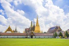 Wat Phra Kaew ou o templo de Emerald Buddha, Tailândia imagens de stock royalty free