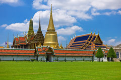 Wat Phra Kaew Palace in Bangkok Royalty Free Stock Images