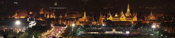 Wat Phra Kaew & x28; Panorama& x29; Fotografie Stock