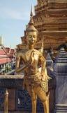 Wat Phra Kaew, powszechnie zna? w Angielskim jako ?wi?tynia Szmaragdowy Buddha uroczysty pa?ac lub dotyczy jak najwi?cej ?wi?tego obraz stock