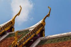 Wat Phra Kaew roof Stock Photo