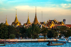 Wat Phra Kaew Royal Palace à Bangkok, Thaïlande Image stock
