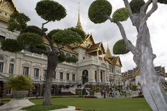 Wat Phra Kaew, the Royal Palace in Bangkok Royalty Free Stock Photography