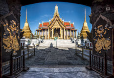 Wat Phra Kaew Royal Palace in Bangkok, Thailand. 1 stock images