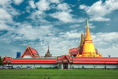 Wat Phra Kaew : The royal temple Royalty Free Stock Image