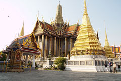 Wat Phra Kaew : The royal temple of Bangkok Royalty Free Stock Photography