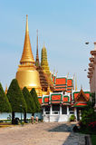 Wat Phra Kaew : The royal temple of Bangkok , Thai Royalty Free Stock Photos