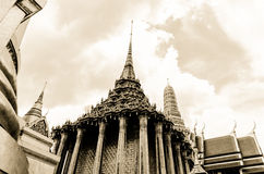 Wat Phra Kaew Royal Thai Buddhism temple i Royalty Free Stock Photography