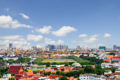 Wat Phra Kaew and Sanam Luang Royalty Free Stock Photography