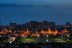 Wat Phra Kaew and Sanam Luang Royalty Free Stock Image