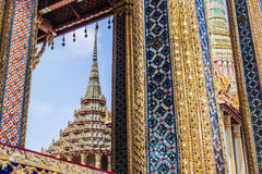 Wat Phra Kaew scene Royalty Free Stock Photography
