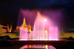 Wat Phra Kaew. Shoot From Wat Phra Kaew District stock photo