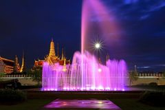 Wat Phra Kaew. Shoot From Wat Phra Kaew District royalty free stock image