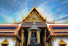 The Wat Phra Kaew. Wat Phra Si Rattana Satsadaram Royalty Free Stock Photography