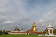 Wat Phra Kaew. Sky The Royal Palace in Bangkok Thailand Royalty Free Stock Photo