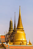 Wat phra kaew skyline Stock Photos
