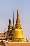 Wat phra kaew skyline Stock Photos