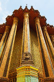 Wat Phra Kaew, Tailândia Foto de Stock Royalty Free