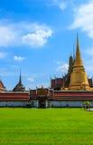 Wat Phra Kaew tempel av Emerald Buddha, förbud Arkivfoton