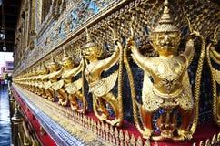 Wat Phra Kaew tempel av Emerald Buddha Phra Si Rattana Satsadaram Royaltyfria Bilder