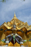 Wat Phra Kaew tempel av Emerald Buddha Phra Si Rattana Satsadaram Royaltyfri Fotografi