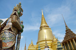 Wat Phra Kaew tempel av Emerald Buddha Phra Si Rattana Satsadaram Royaltyfri Foto