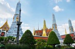 Wat Phra Kaew   Tempel Emerald Buddha Phra Si Rattanas Satsadaram Stockbilder