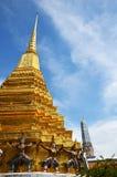 Wat Phra Kaew, Tempel Emerald Buddha Phra Si Rattanas Satsadaram Stockbilder
