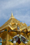 Wat Phra Kaew, Tempel Emerald Buddha Phra Si Rattanas Satsadaram Stockfoto