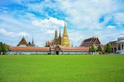 Wat Phra Kaew (Tempel Emerald Buddhas), Thailand Stockfotografie