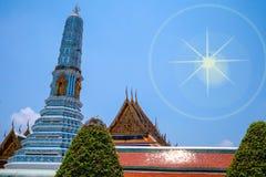 Wat Phra Kaew royaltyfria bilder