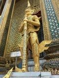 Wat Phra Kaew tempel, jätte- demon Yaksha, Bangkok, Thailand South East Asia royaltyfri fotografi