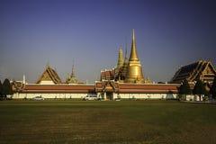 Wat Phra Kaew-tempel, Thailand royalty-vrije stock afbeelding