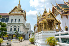 Wat Phra Kaew, Tempel van Bangkok Thailand 5 Stock Afbeelding