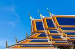 Wat Phra Kaew, Tempel van Emerald Buddha, Bangkok, Thailand. Royalty-vrije Stock Foto