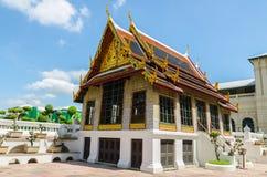 Wat Phra Kaew, Tempel van Emerald Buddha, Bangkok, Thailand. Stock Foto