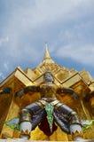 Wat Phra Kaew, Tempel van Emerald Buddha Phra Si Rattana Satsadaram Stock Fotografie