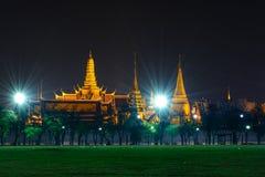 Wat Phra Kaew, Tempel van Smaragdgroene Boedha Royalty-vrije Stock Fotografie