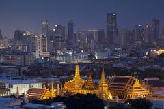 Wat Phra Kaew, Tempel van Smaragdgroene Boedha royalty-vrije stock foto's