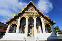 Wat Phra Kaew, tempio di Emerald Buddha, Bangkok, Tailandia. Immagini Stock