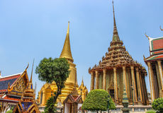 Wat Phra Kaew, tempio di Emerald Buddha, Tailandia Fotografie Stock Libere da Diritti