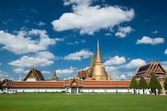 Wat Phra Kaew, tempio di Emerald Buddha, Wat Phra Si Rattana Satsadaram, Bangkok, Tailandia Immagine Stock