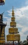 Wat Phra Kaew, Templae de Emerald Buddha Imagen de archivo libre de regalías