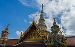 Wat Phra Kaew, Templae of the Emerald Buddha Stock Images